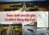 Toàn cảnh cao tốc gần 35.000 tỉ đồng đầy ổ gà