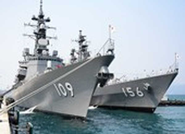 Đón 2 tàu hộ vệ của Nhật Bản thăm cảng Cam Ranh