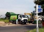 Người dân chặn xe vào bãi rác, hàng ngàn tấn rác phải đổ tạm