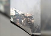 Tạn nạn liên hoàn trên cao tốc Long Thành - Dầu Giây