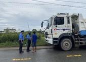 Thanh tra giao thông ra quân xử phạt xe đi vào giờ cấm