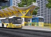 Ba năm nữa, TP.HCM có buýt nhanh đầu tiên với làn riêng