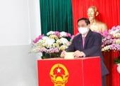 Chùm ảnh Thủ tướng Phạm Minh Chính bỏ phiếu bầu cử ở Cần Thơ