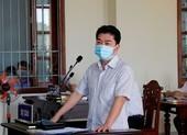 Cựu phó chủ tịch quận Bình Thủy nhận sai