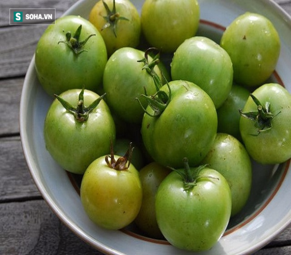 cà chua xanh