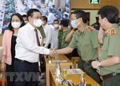 Bộ Công an phát lệnh ra quân bảo đảm an ninh ngày bầu cử