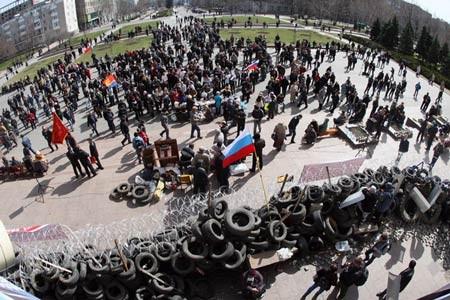 Nga cảnh báo lính đánh thuê Mỹ tập hợp ở đông nam Ukraine