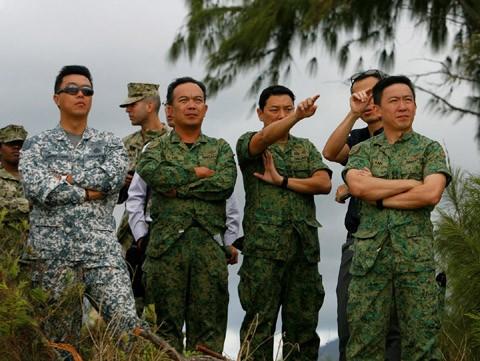 tập trận, RIMPAC, Thủ quân Lục chiến