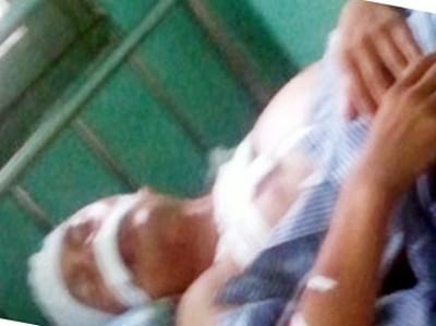 Anh Điền tại bệnh viện đã qua cơn nguy kịch