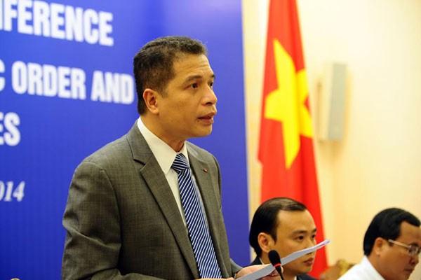 Đặng Minh Khôi, thứ trưởng ngoại giao, TQ, Nguyễn Thanh Sơn, giàn khoan