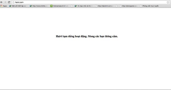 Trang mạng xã hội Haivl.com đã chính thức bị rút giấy phép hoạt động.