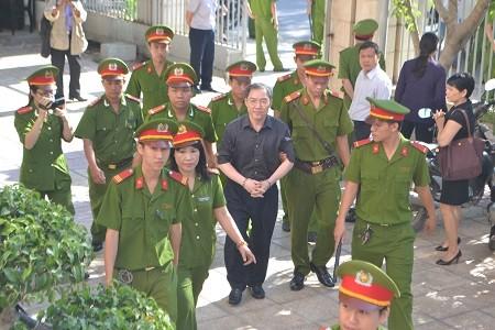 Dương Chí Dũng xuất hiện trong vụ án tham ô xảy ra tại Khánh Hòa
