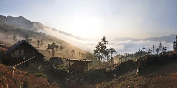 Sương sớm ở Hầu Thào (Lào Cai)