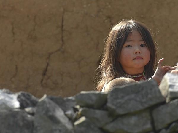 Em bé ở Lao Xa (Hà Giang)