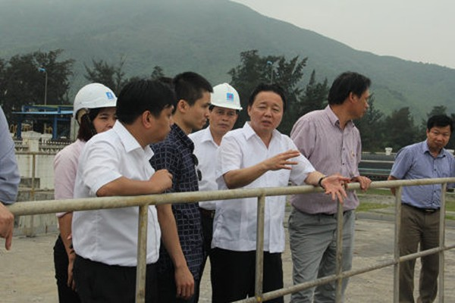 Bộ Trưởng Bộ TN&MT Trần Hồng Hà: