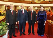 Giới thiệu nhân sự Bộ Chính trị, Ban bí thư khóa XIII