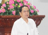 Phó chủ tịch thường trực QH kiểm tra bầu cử tại Tiền Giang