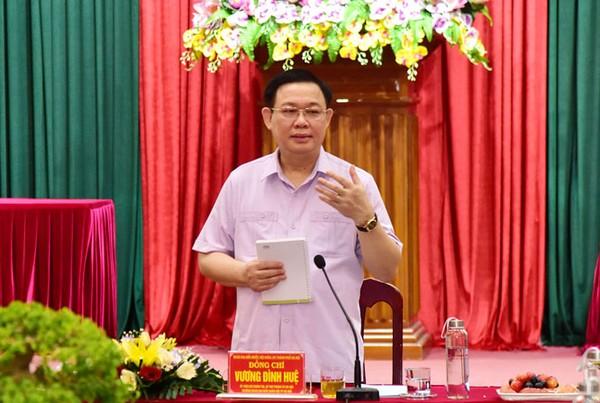 Bí thư Thành uỷ Hà Nội làm việc với huyện Thường Tín