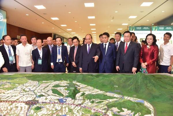 Thủ tướng Nguyễn Xuân Phúc - Hội nghị thu hút đầu tư 2020 Hà Nội