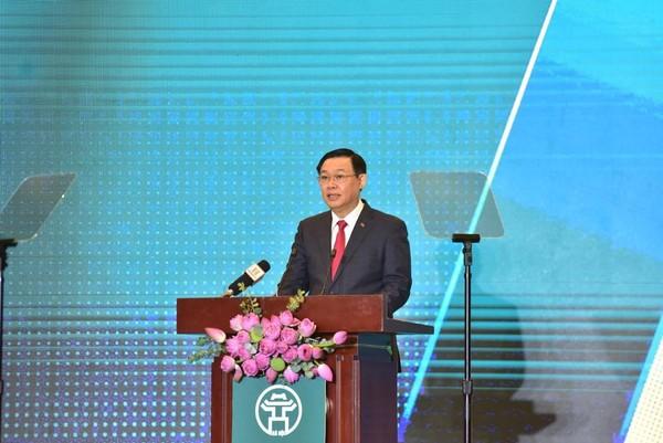 Bí thư Hà Nội Vương Đình Huệ - Hội nghị thu hút đầu tư Hà Nội 2020