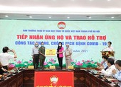 Hà Nội tiếp nhận ủng hộ hơn 12 tỷ đồng phòng, chống COVID-19