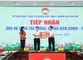 Hà Nội tiếp nhận 26,7 tỷ đồng ủng hộ chống dịch COVID-19