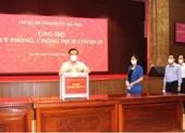 Hà Nội kêu gọi ủng hộ Quỹ phòng, chống dịch COVID-19