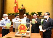 Quốc hội kiện toàn 13 chức danh cho bộ máy khoá mới