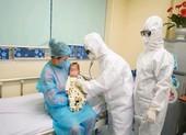 Bé 3 tháng tuổi ở Vĩnh Phúc nhiễm COVID-19 được xuất viện
