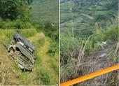 Xe chở khách từ Đà Nẵng lao xuống vực ở Hà Giang, 3 người chết