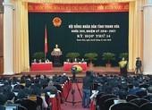 Kỳ họp HĐND Thanh Hóa: Sẽ bầu các chức danh chủ chốt của tỉnh
