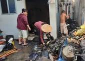 Cháy nhà sau tiếng nổ, nhiều người tháo chạy ở Gò Vấp