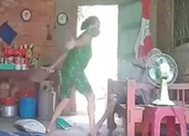 Long An: Công an vào cuộc vụ cụ bà bị con gái bạo hành