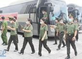 166 'chiến sỹ áo trắng' Bộ Công an lên chi viện cho Bắc Giang