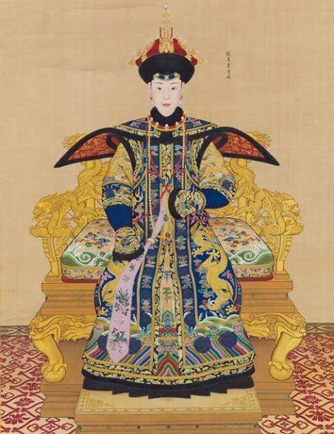 Bức họa quý phi của Càn Long đạt giá hơn 17 triệu đô - ảnh 1