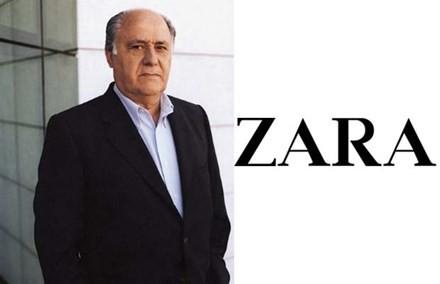Tỷ phú Amancio Ortega – chủ nhân hãng thời trang Zara.
