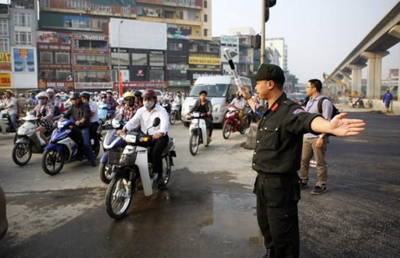 Cảnh sát cơ động được khám người, khám xe khi nào? - ảnh 1