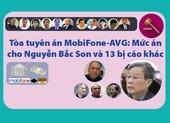 Mức án cụ thể của ông Nguyễn Bắc Son và 13 đồng phạm