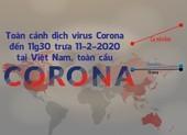 Toàn cảnh dịch Corona đến trưa 11-2 ở Việt Nam, toàn cầu