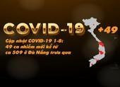 Cập nhật COVID-19 1-8: 49 ca nhiễm mới kể từ ca 509 trưa qua