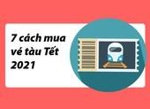 Bí kíp dành cho khách mua vé tàu tết Tân Sửu 2021