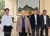 Giới thiệu Tổng Bí thư Nguyễn Phú Trọng ứng cử ĐBQH khóa XV