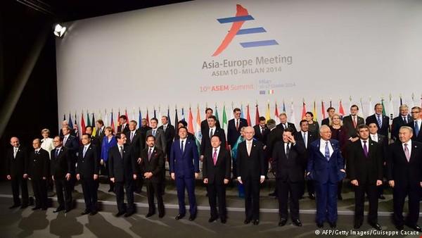 Hội nghị ASEM lần thứ 10 đã được tổ chức tại Milan