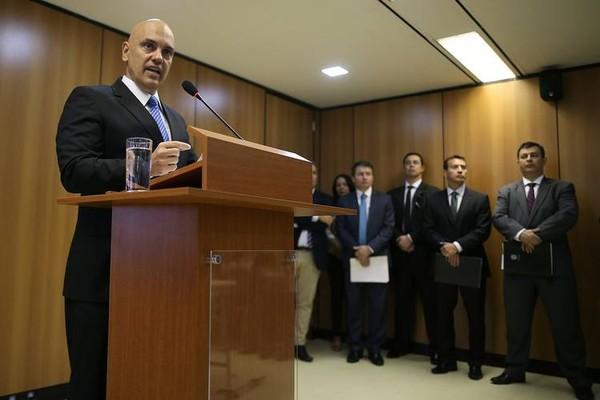 Bộ trưởng Tư pháp Brazil Alexandre de Moraes, nhóm bị bắt giữ