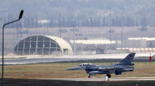 Máy bay F-16 của Không quân Thổ tại căn cứ không quân ở Adana, Thổ Nhĩ Kỳ. Ảnh: REUTERS