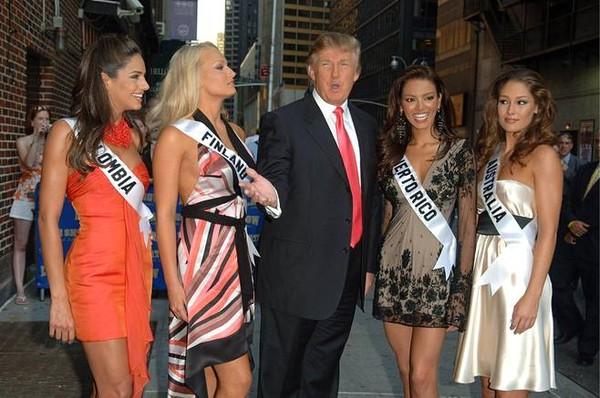 Cựu hoa hậu Phần Lan tố từng bị Trump sờ mông