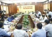 Bộ trưởng Nguyễn Xuân Cường tới Quảng Ngãi chỉ đạo chống bão