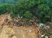 Sạt lở Trà Leng: Đất trên núi cao hàng trăm mét tuôn xuống