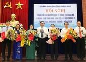 Quảng Nam điều động, bổ nhiệm nhiều cán bộ