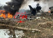 Máy bay chở hàng Boeing 707 rơi ở Iran